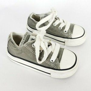Converse All Star Gray Shoes Chucks Sneakers Low